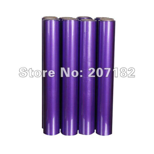 "0.5*3m ( 20""x10') Purple Reflective PU Vinyl Transfer Film,Lettering Film, Heat Transfer Film(China (Mainland))"