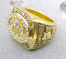 Replica 18K gold plated 1988 San Francisco 49ers Super Bowl XXIII Football world Championship ring(China (Mainland))