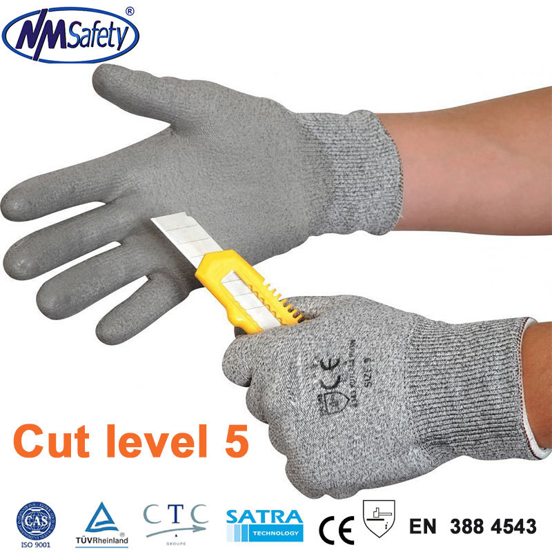 New Arrival 4 Pairs Working Protective Gloves Cut-resistant Anti Abrasion Safety Gloves Cut Resistant(China (Mainland))