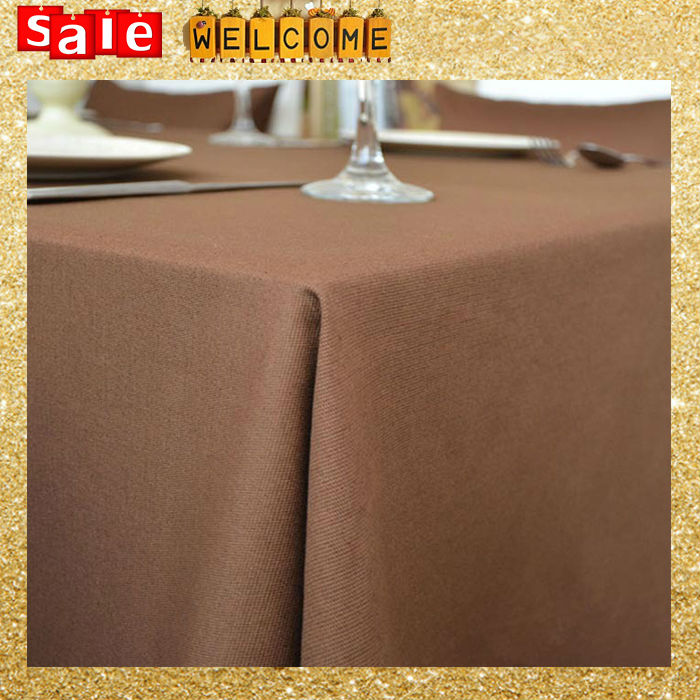 Linen&Cotton Table Cloth Rustic Tablecloth Table Cover Decor Home Party Dining Room Solid Color Fabric Table Cloth Wholesale(China (Mainland))