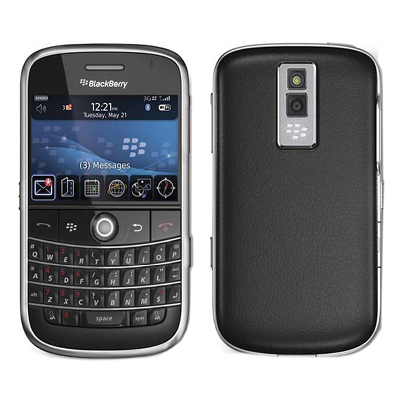 100% Original Unlocked 9000 Original Blackberry Bold 9000 Mobile Phone GPS WIFI 3G Cell Phone Refurbished(China (Mainland))