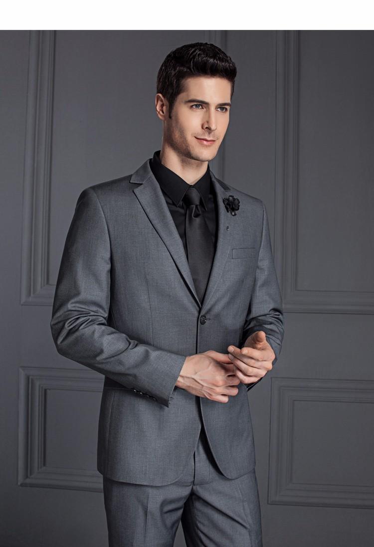 HTB1I1hSPXXXXXXcXXXXq6xXFXXXK - 2017 Men Business Suit Slim fit Classic Male Suits Blazers Luxury Suit Men Two Buttons 2 Pieces(Suit jacket+pants)