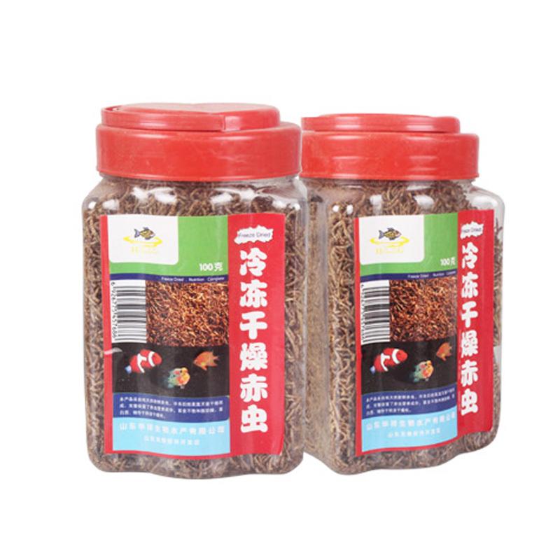 100 G Secos Alimentos Para Peces Larvas De Mosquito Frozen