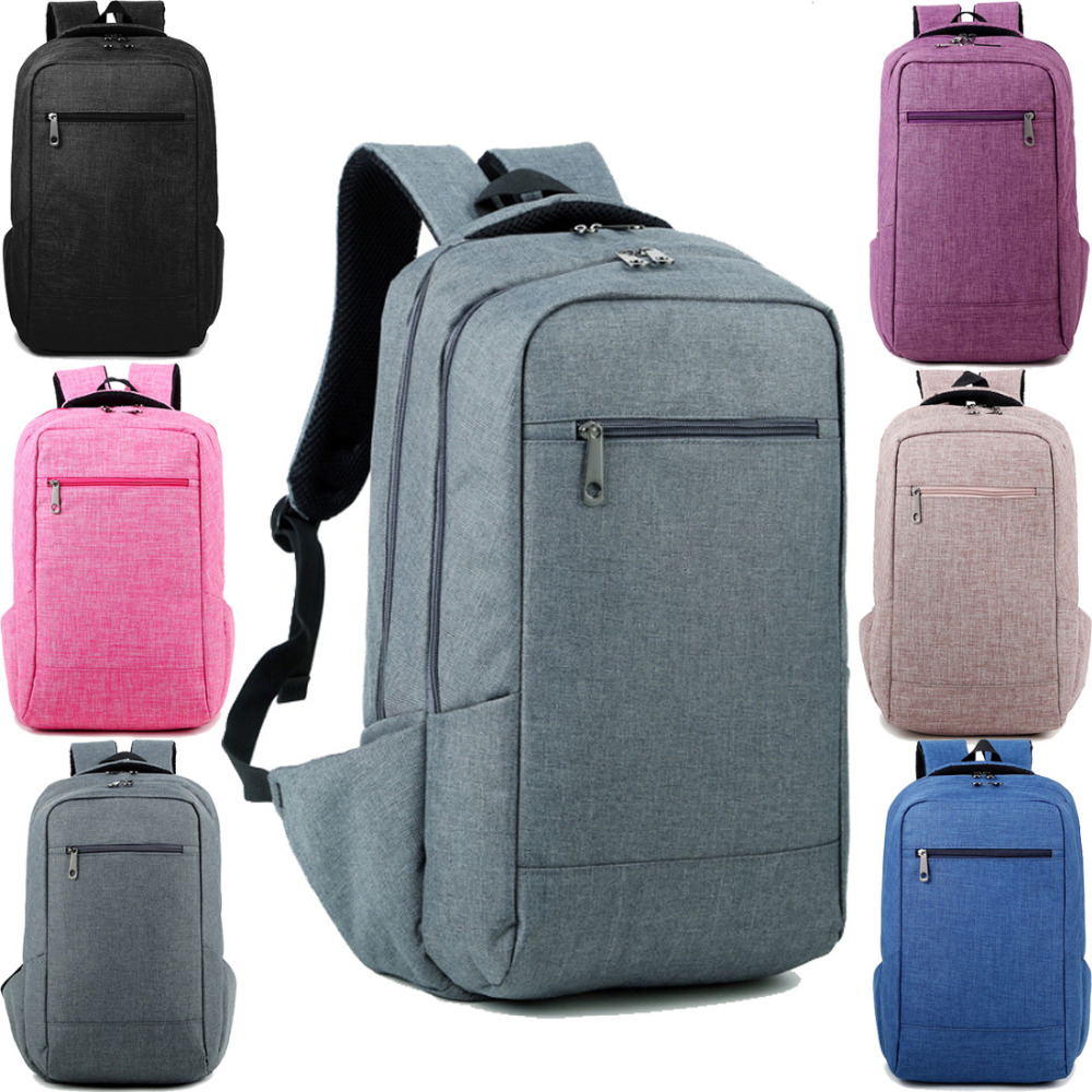14 inch Linen Travel Computer laptop notebook Backpack Bags Case School Backpack for Men Women Student(China (Mainland))
