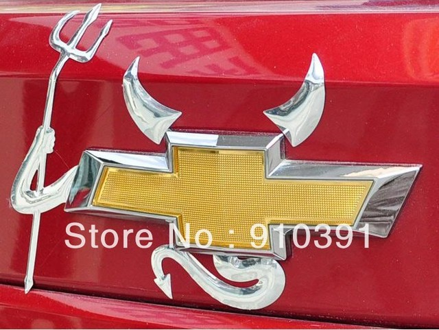 Free shipping DIY PVC 3D car sticker Cartoon Devil car sticker Demon car decals as decoration sticker for auto car accessory.