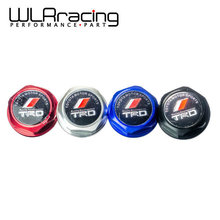 WLR-STORE TRD Engine Oil Fuel Filler Tank Cap Cover Aluminum Black For TOYOTA LEXUS SCION WLR6318(China (Mainland))