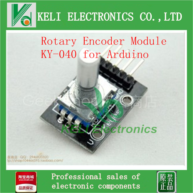Гаджет  1pcs/lot  Rotary Encoder Module for FZ0534  Dropshipping KY-040 for Arduino None Электронные компоненты и материалы