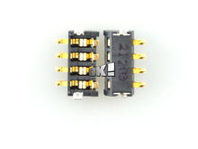 10 pcs New arrival For HTC G12 Battery Connector Contact FPC Plug On Board Free Shipping