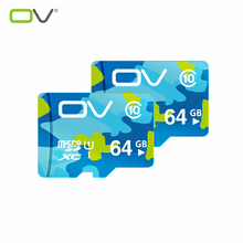 OV Memory Card 64GB Class 10 Micro SD Card TF Card Micro SDHC Up to 80MB/s Reading Speed UHS-1 Waterproof(China (Mainland))