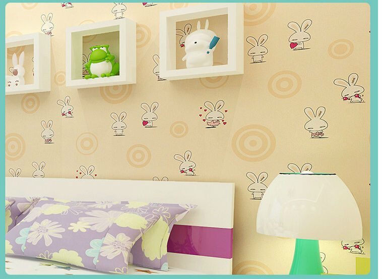 Tapete infantil papel de parede bedroom desktop wallpaper for Waterproof wallpaper for home