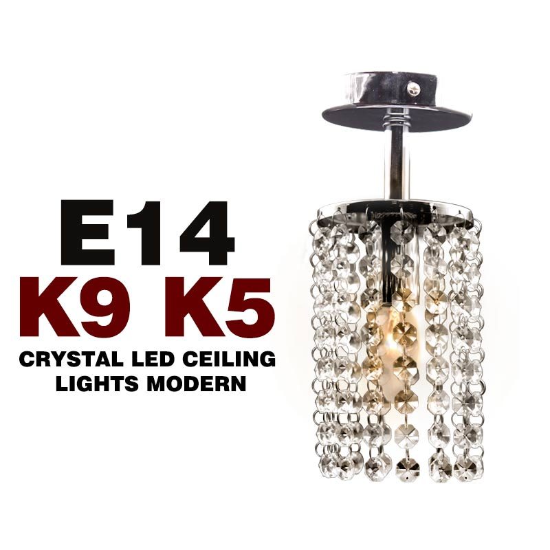 New Modern Crystal Chandelier Lamp Lustre with E14 Top K9 K5 type 220v Crystal String crystal ceiling light(China (Mainland))