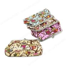 "Y92"" On Sale! New European Style Women Lovely Owl Hasp Coin Purse Lady Wallet Clutch Bag Free Shipping(China (Mainland))"