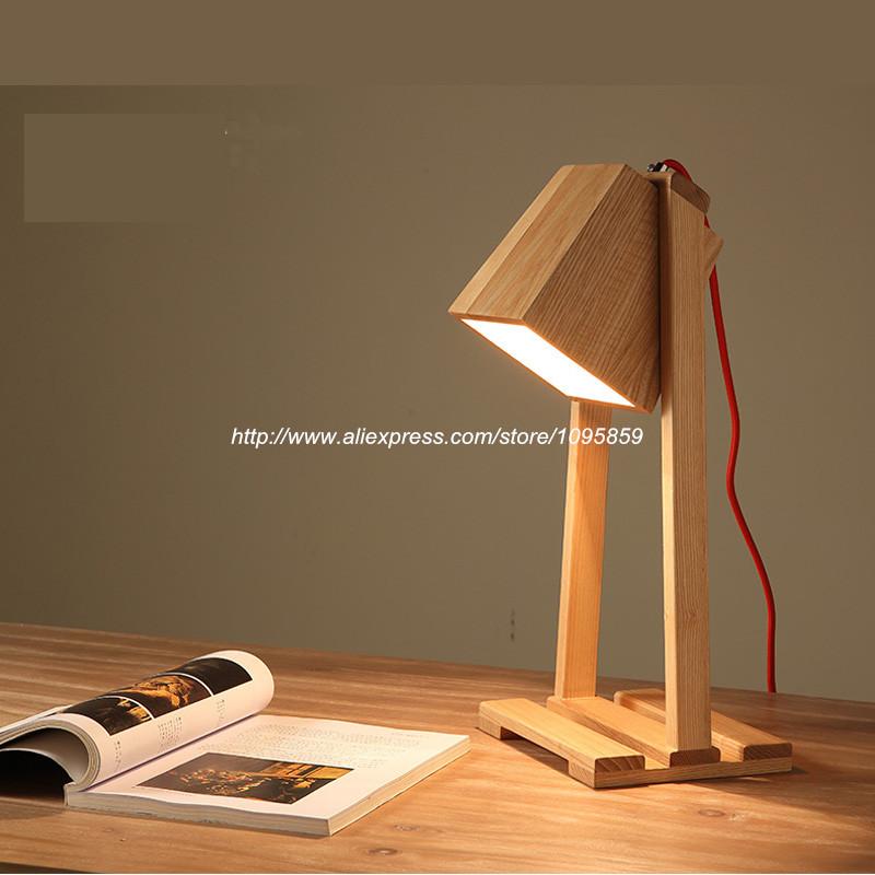Aliexpress Com Buy Modern Ikea Style Nordic Wood Color