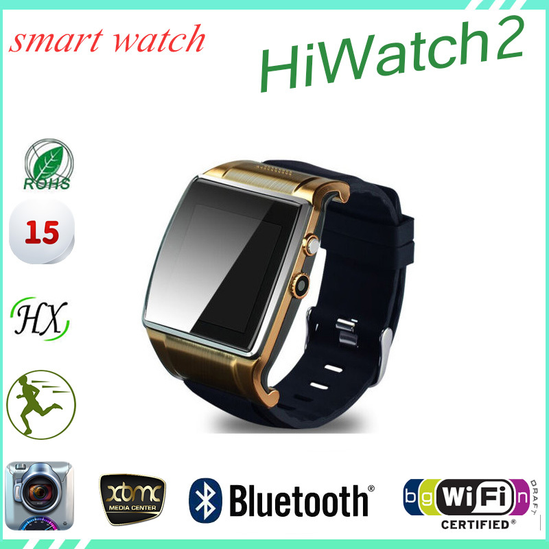 New Bluetooth3.0 Fashion WatchPhone Hiwatch Smart WatchPhone Touch WatchPhone Wrist Mobile WatchPhone For Gifts(China (Mainland))