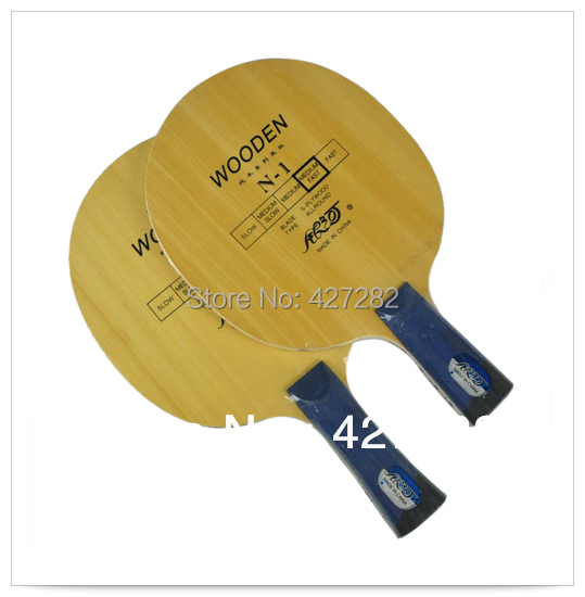 Original Milkey way Yinhe pure wood N-1 professional table tennis blade for beginner table tennis rackets fast attack with loop(China (Mainland))