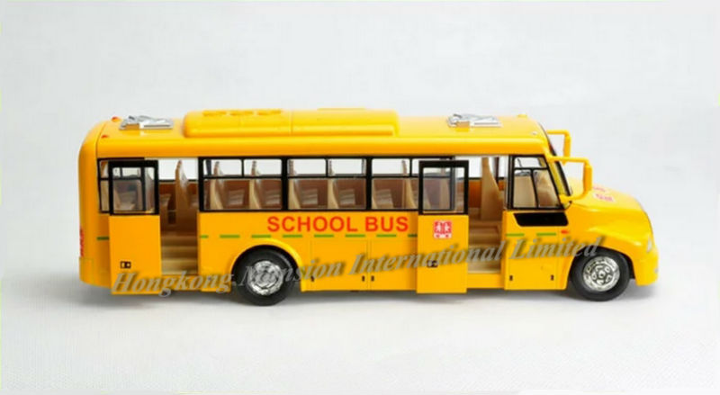 132 Car Model For Amecican School Bus style 1 (4)