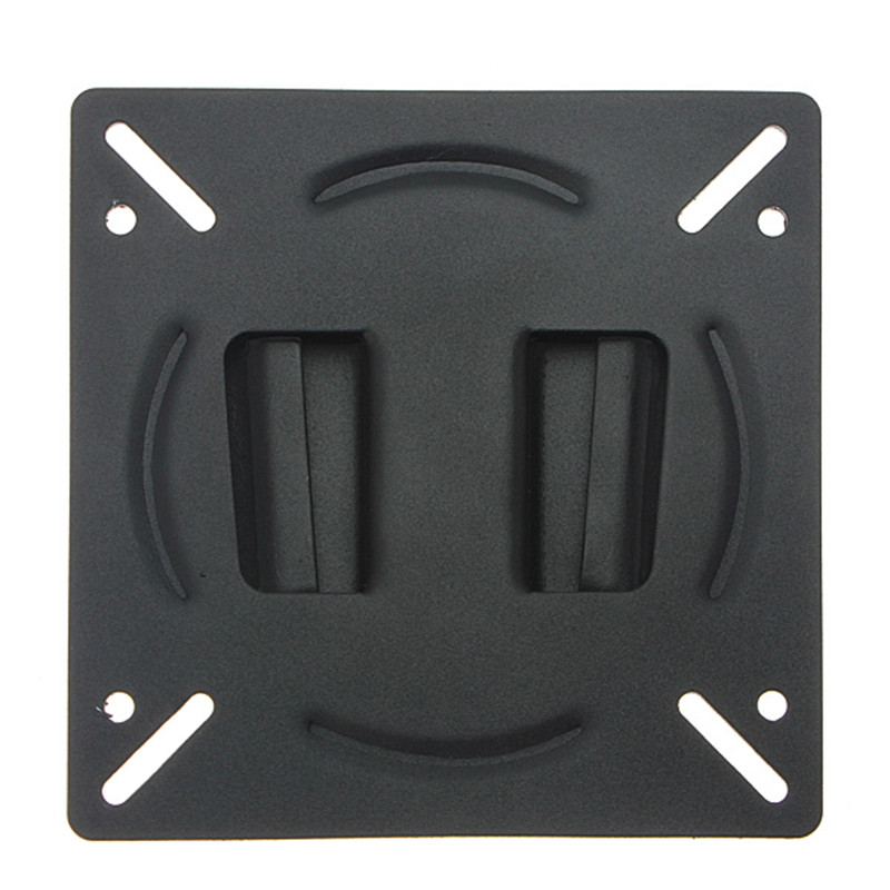 NEW Wall Mount Holder Bracket for 10-23 Inch Flat Panel Screen LCD LED Display TV Monitor New Black(China (Mainland))