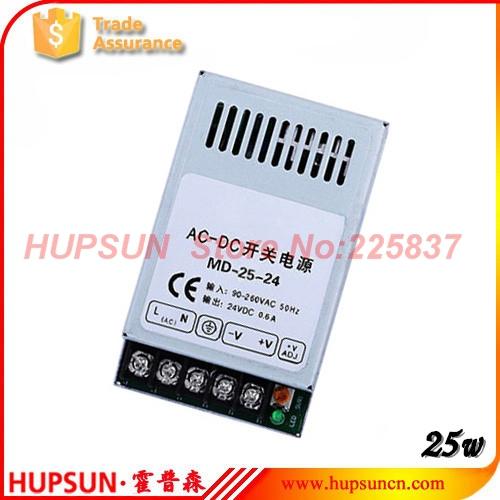 25w MD-25 ac-dc 220v 3.3v 6A 5v 5A 12v 24v mini slim switching power supply source LED driver free shipping(China (Mainland))