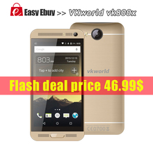 "Original Vkworld VK800X Android 5.1 MTK6580 Quad Core 1.5Ghz 3G Smart Phone 5.0"" IPS Screen 1GB RAM 8GB ROM WIFI GPS Dual SIM(China (Mainland))"