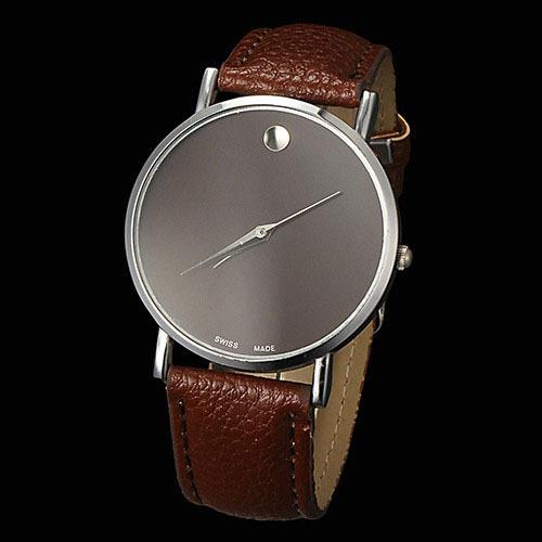 New 2015 Watch Famous Brand Geneva Cheap Unisex Watch Men Wristwatches Women Wristwatch Fashion Wrist Leather Strap Quartz Watch(China (Mainland))