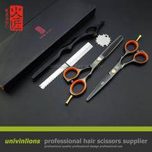 """5.5"""" japan kasho shears sale japanese hair scissors kasho razor scissors thinning scissors hairdresser razor hairdressing kit(China (Mainland))"""