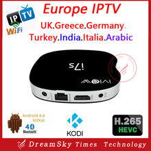 New arrival original Iview i7s Quad Core Android Europe IPTV Box with 1 year Package watch IPTV Channels