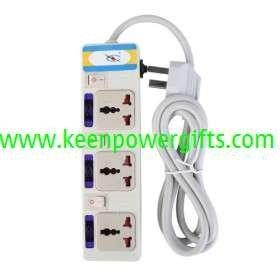 220V AC Socket Multi Extension Adapter Arrester Device