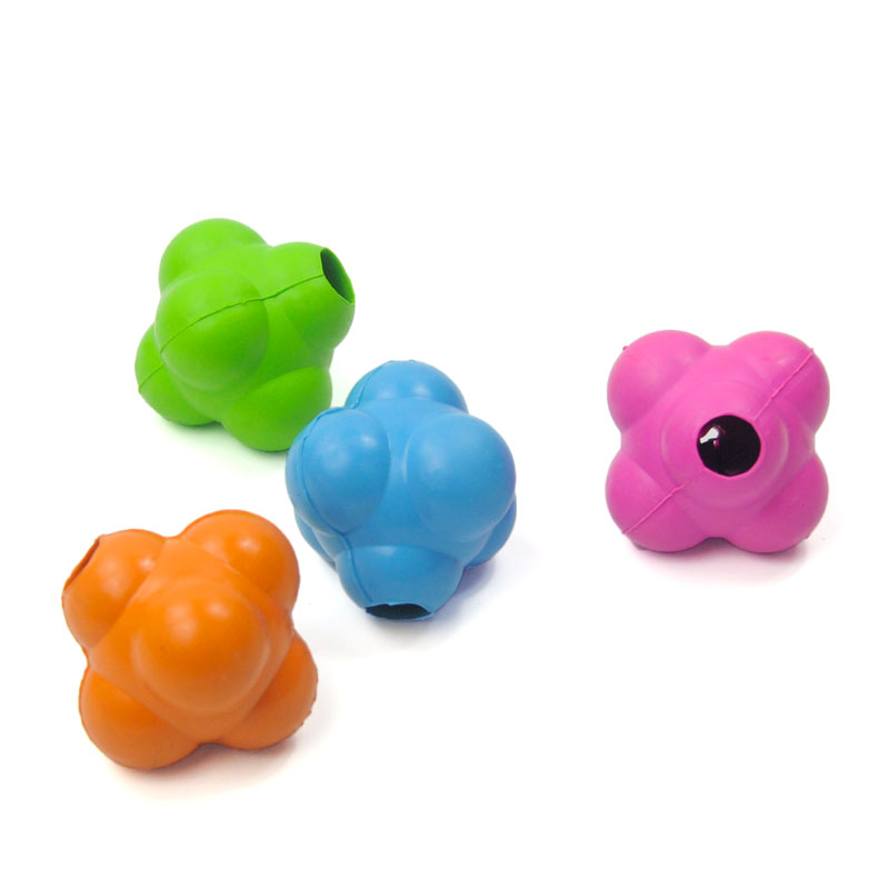 Pet Toys Natural Rubber Dog Toys Squeak Toys Clean Teeth Safety non-toxic Chew Interactive Toy (Color Random) LRCW138(China (Mainland))