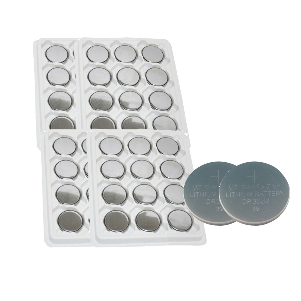 50pcs CR3032 3V 500mAh Lithium Button Coin Battery for watches, calculator,flashlights etc(China (Mainland))