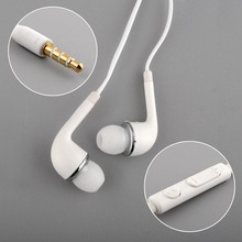 Hot Portable In-Ear Handsfree Headset Earphones Wired White 3.5mm Jack With Remote MIC For Smartphone SAMSUNG xiaomi HTC MP3 MP4
