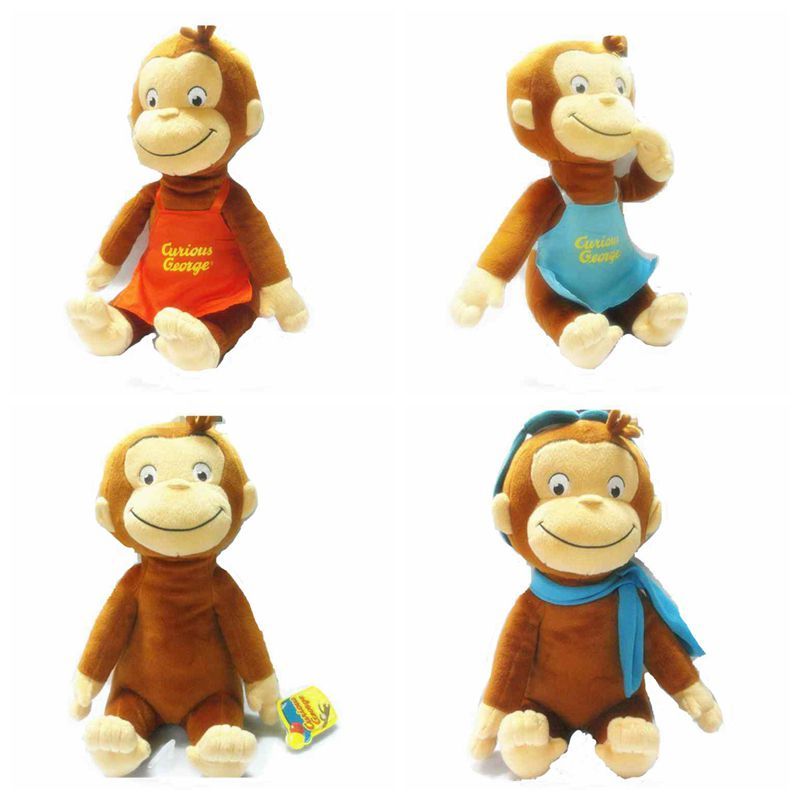 CURIOUS GEORGE PLUSH DOLL Dora the Explorer BOOTS MONKEY PLUSH STUFFED ...: http://www.aliexpress.com/item/2014-NEW-5sets-lot-THE-movie-Frozen-princess-Girls-Kids-short-t-shirt-loose-pajamas-set/1736654934.html