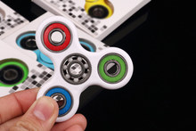 Buy New Colorful Tri-Spinner Fidgets Toy Plastic EDC Sensory Fidget Spinner Autism ADHD Kids/Adult Funny Anti Stress Toys for $4.49 in AliExpress store