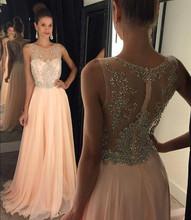 Shining Beaded Luxury Evening Dresses 2017 Issusion Backless Sweetheart Modest Prom Dresses 2017 Floor-Length Vestido de Festia(China (Mainland))