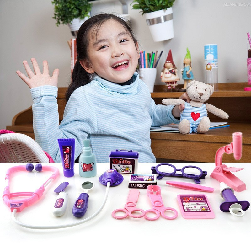 Play Toys For Girls : Doctor role play toy kit for girl pretend toys