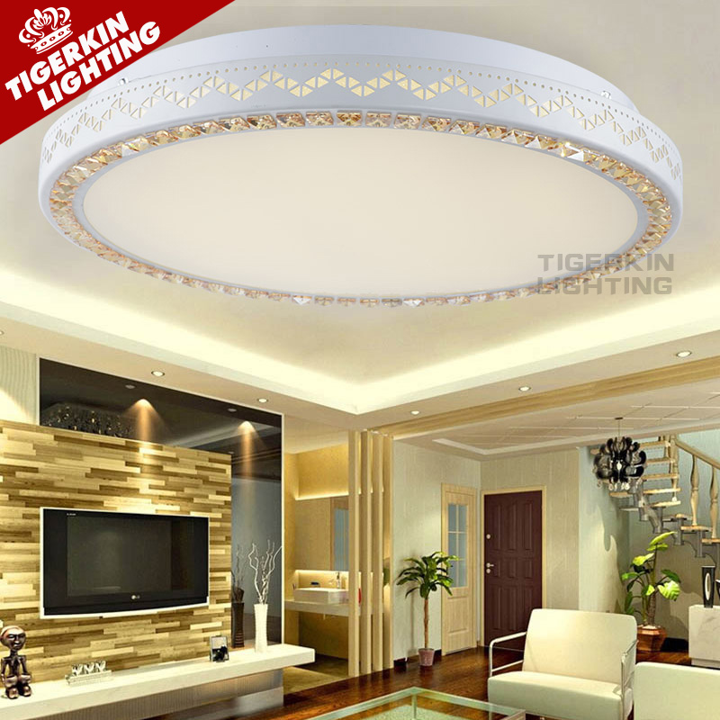 Simply modern led ceiling lights for living room bedroom Circle Rings luminarias avize Indoor Led Modern Ceiling Lamp Fixtures(China (Mainland))