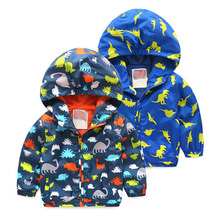 Baby Boy Spring Jackets 2016 New Brand Softshell Jacket Kids Coat Active Hooded High Quality 2-6 Years(China (Mainland))