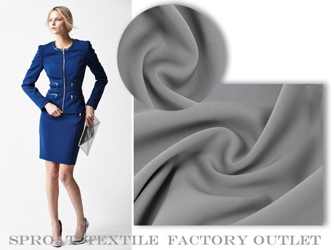 Stock clearance high quality scuba fabric for ladies dress, coat and skirt free shipping SP286(China (Mainland))
