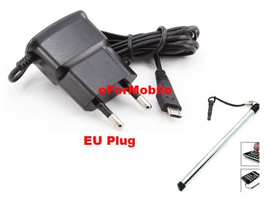 eu lader adapter ac lader reislader mobiele telefoon oplader +stylus voor Galaxy Note 3 N9000 n9002 n9005(China (Mainland))