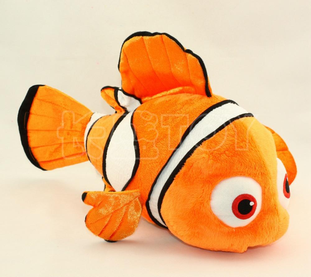 Big Size 60cm Nemo Clownfish Animals Fish Stuffed & Plush Animals Toys Stuffed Animals & Plush Doll Plush Toys(China (Mainland))