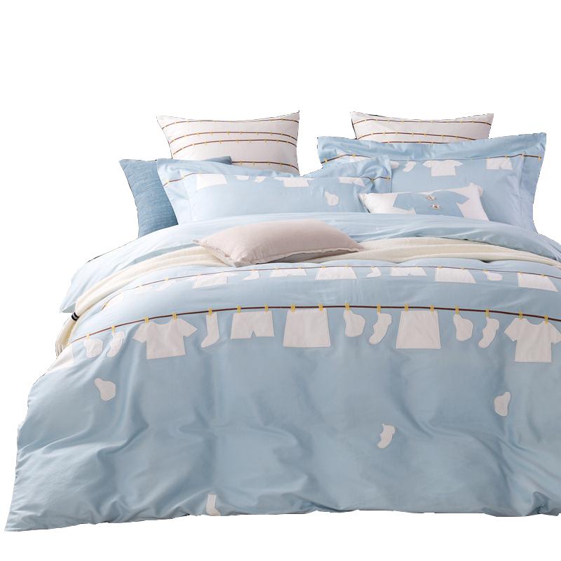 Promoci n de egipcio ropa de cama conjunto compra - Fundas nordicas algodon egipcio ...