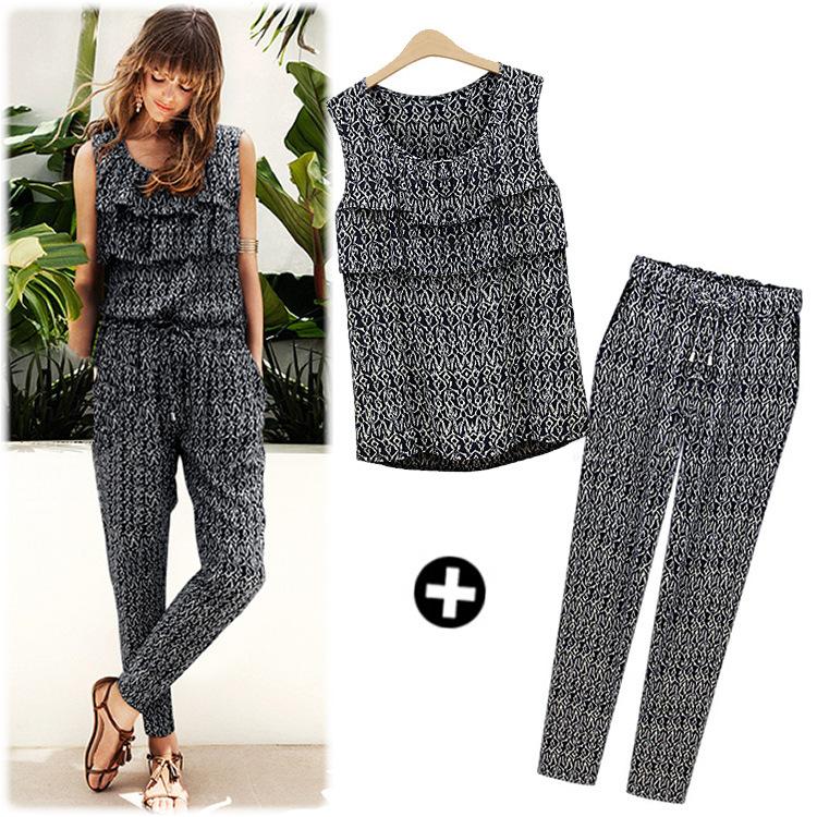 Perfect Casual Long Sleeve Hoodies  Long Pants 2 Piece Set Women Pant
