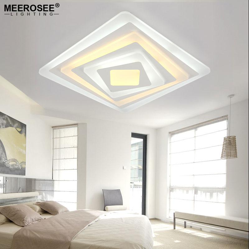 Slaapkamer plafondlamp beautiful moderne plafondlamp acryl w led slaapkamer with slaapkamer - Eclairage design salon ...