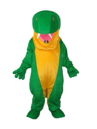 Hot selling!New strange Green Snake Cartoon Fancy Dress Suit Outfit Animal Mascot Costume - Sam's World store