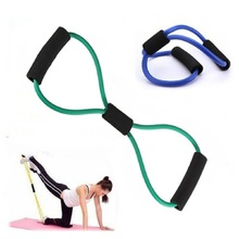 Resistance Training Exercise Elastic Band Tube Weight Control Fitness Stretch Equipment For Yoga Multicolor Durable