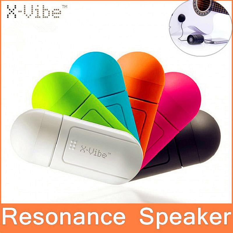 2016 X-Vibe Mini portable Resonance Speaker Vibration Speaker For MP3 Cellphone Everything Smarter than Bluetooth Speaker(China (Mainland))