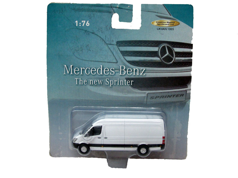 Creative Master Northcord Ltd. 1:76 BENZ Mercedes-Benz commercial vehicles bus THE NEW SPRINTER(China (Mainland))