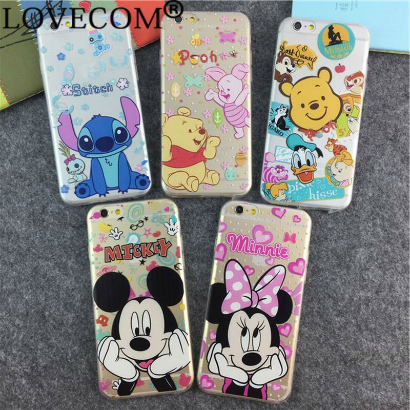 Catoon Lovely Image Light Soft Back Cover Phone Case Iphone 6 6S 4.7 inch YC383 - LOVECOM Official Flagship Store store