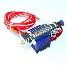 3D Printer J-head Hotend with Cooling Fan for 1.75mm/3.0mm E3D Bowden Extruder 0.2mm/0.3mm/0.4mm Nozzle Optional