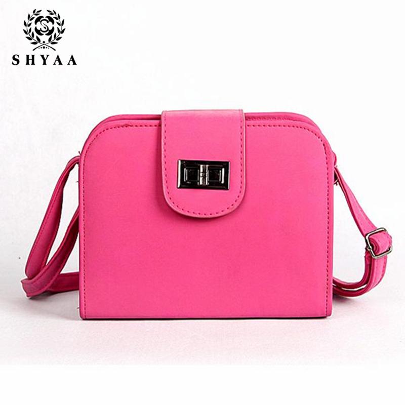 SHYAA-New manufacturers selling retro matte wristlock small bag for women handbags women nice shoulder bag women messenger bags(China (Mainland))