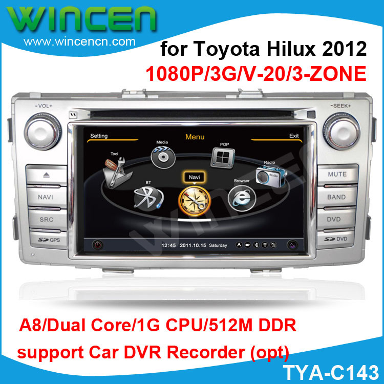 S A Dual Core   Car Gps For Toyota Hilux  Gb Cpu M Ddr